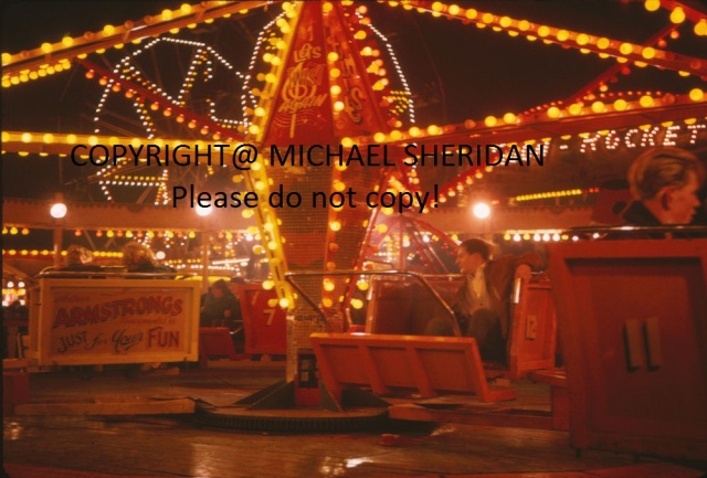The Cyclone Fairground ride from the 1960s
